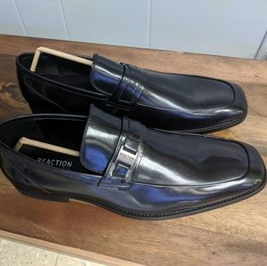 Kenneth Cole black loafers mens sz 13